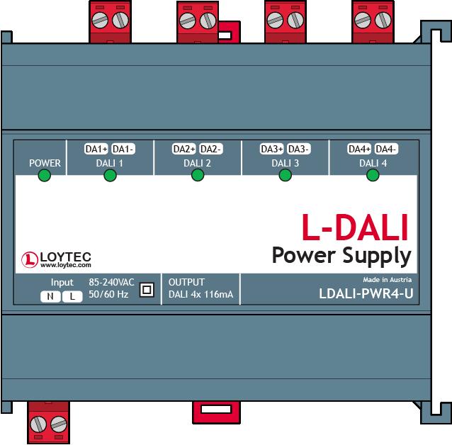 Loytec LDALI-PWR4-U