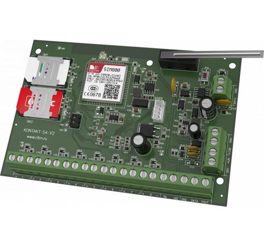 Прибор охранный «Контакт GSM-5A v.2» (без корпуса)