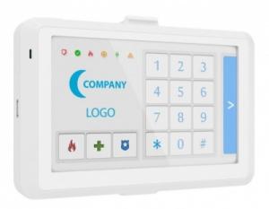 Клавиатура сенсорная проводная LCD KB2