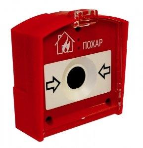 Извещатель пожарный ручной радиоканальный ИП 535-1-А «RIPR1»
